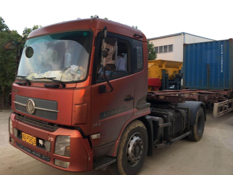 中材建科砖机远销非洲加纳